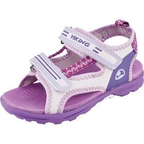Viking Footwear Skumvaer Sandalias Niños, violeta